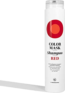 Color Mask Shampoo Red - Sulfate Free Toning Red Shampoo for Red Hair - Intensive Color Depositing Shampoo Red, VEGAN, 8.5 oz