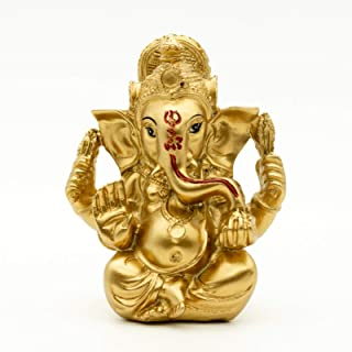 Hindu God Statue Ganesh Figurine India Buddha Elephant Lord Ganesha Sculpture Wedding Gifts Diwali Gifts Puja Product Home...