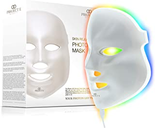 Project E Beauty 7 Colors LED Face Mask Photon Therapy For Skin Rejuvenation Tightening and Whitening Anti Aging Wrinkles ...