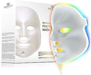 Project E Beauty Huidverjonging Fotonmasker | 7 kleuren LED Foton Lichttherapie Behandeling Whitening Anti-aging Acne Spot...