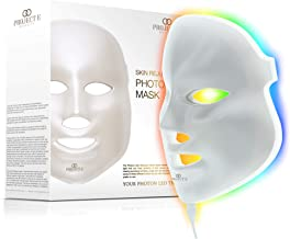 Project E Beauty Skin Rejuvenation Photon Mask   7 Color LED Photon Light Therapy Treatment Whitening Anti-aging Acne Spot Scar Removal Smooth Wrinkles Fine Lines Skin Tightening Facial Beauty Daily Skin Care