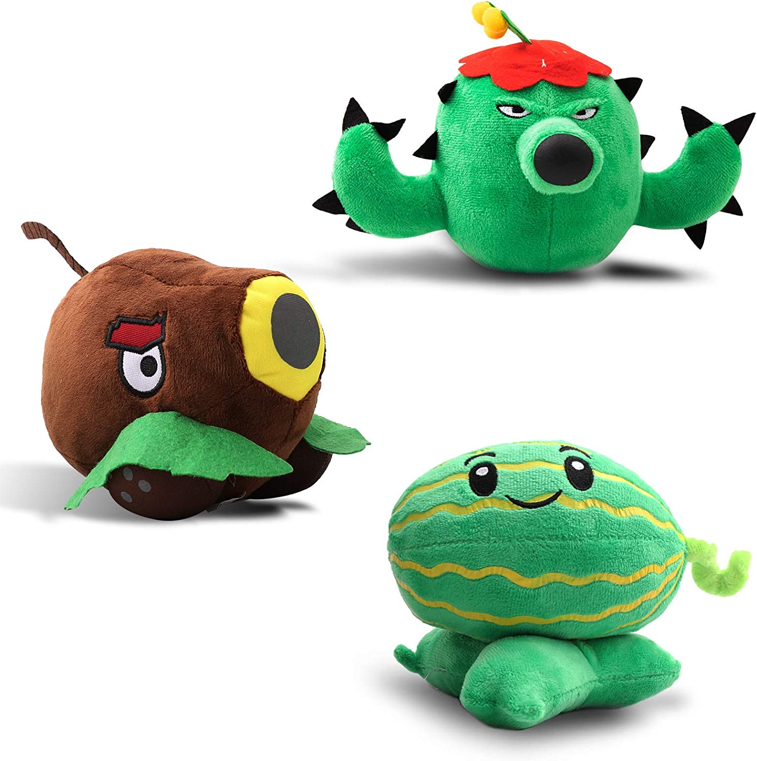 Maikerry 3 Pieces Plush Plants vs. Popular shop is the lowest price New products, world's highest quality popular! challenge Great Figure Zombies 12 Toy