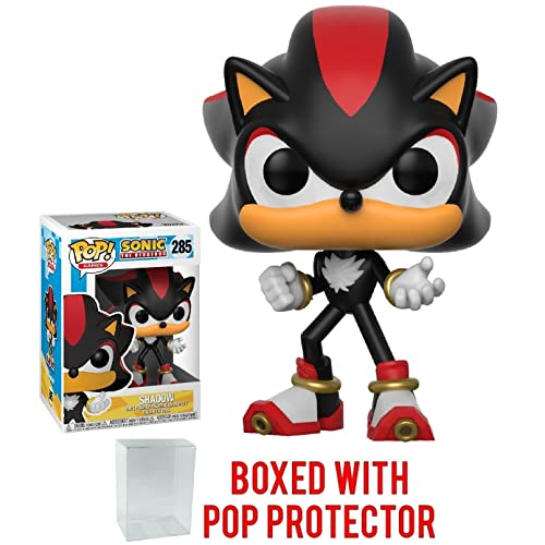 781a20598cfa3 Funko Pop Games  Sonic the Hedgehog - Shadow Vinyl Collectible Toy + Pop  Protector