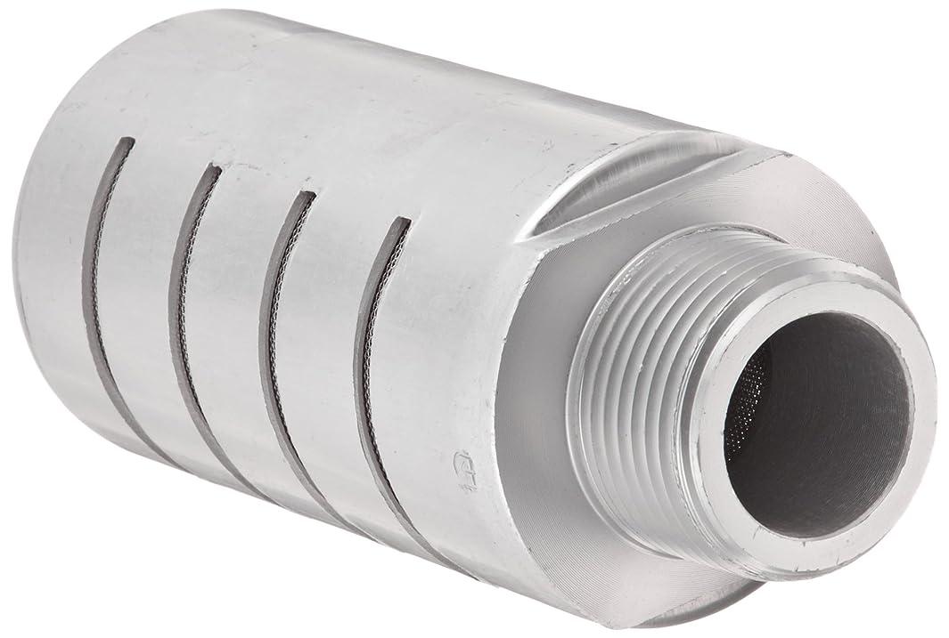 Parker ES100MC Aluminum Exhaust Silencer, 1
