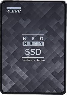 エッセンコアクレブ KLEVV SSD 512GB SATA3 6Gb/s 2.5インチ 7mm NAND採用 DRAMキャッシュ搭載 5年保証 NEO N610 K512GSSDS3-N61EC