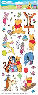 Disney Flat Stickers, Pooh and Friends, Large