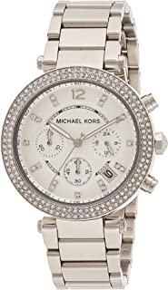 Michael Kors Parker Women's Silver Dial Stainless Steel Analog Watch - MK5353