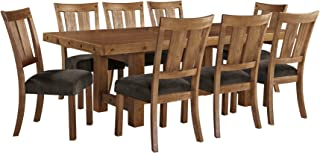 Ashley Furniture Signature Design - Tamilo 9-Piece Dining Room Set - Includes Rectangle Extension Table & 8 Side Chairs