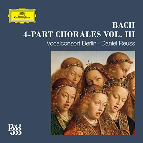 Bach 333: 4-Part Chorales (Vol. 3)