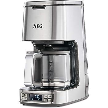 AEG KF7800 Cafetera Digital de Goteo Programable, 1100 W, 14 Cups ...