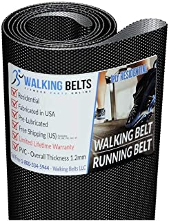 WALKINGBELTS Walking Belts LLC - GGTL596131 Golds Gym Trainer 720 Treadmill Walking Belt + Free 1oz Lube