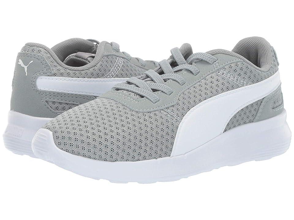 Puma Kids ST Activate AC (Little Kid/Big Kid) (Limestone/Puma White) Kids Shoes