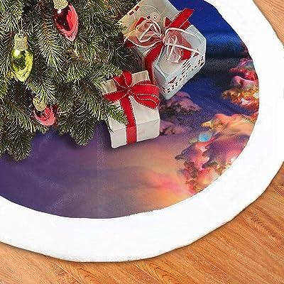 N/A Paddington - Falda para árbol de Navidad, diseño de Oso ártico ...