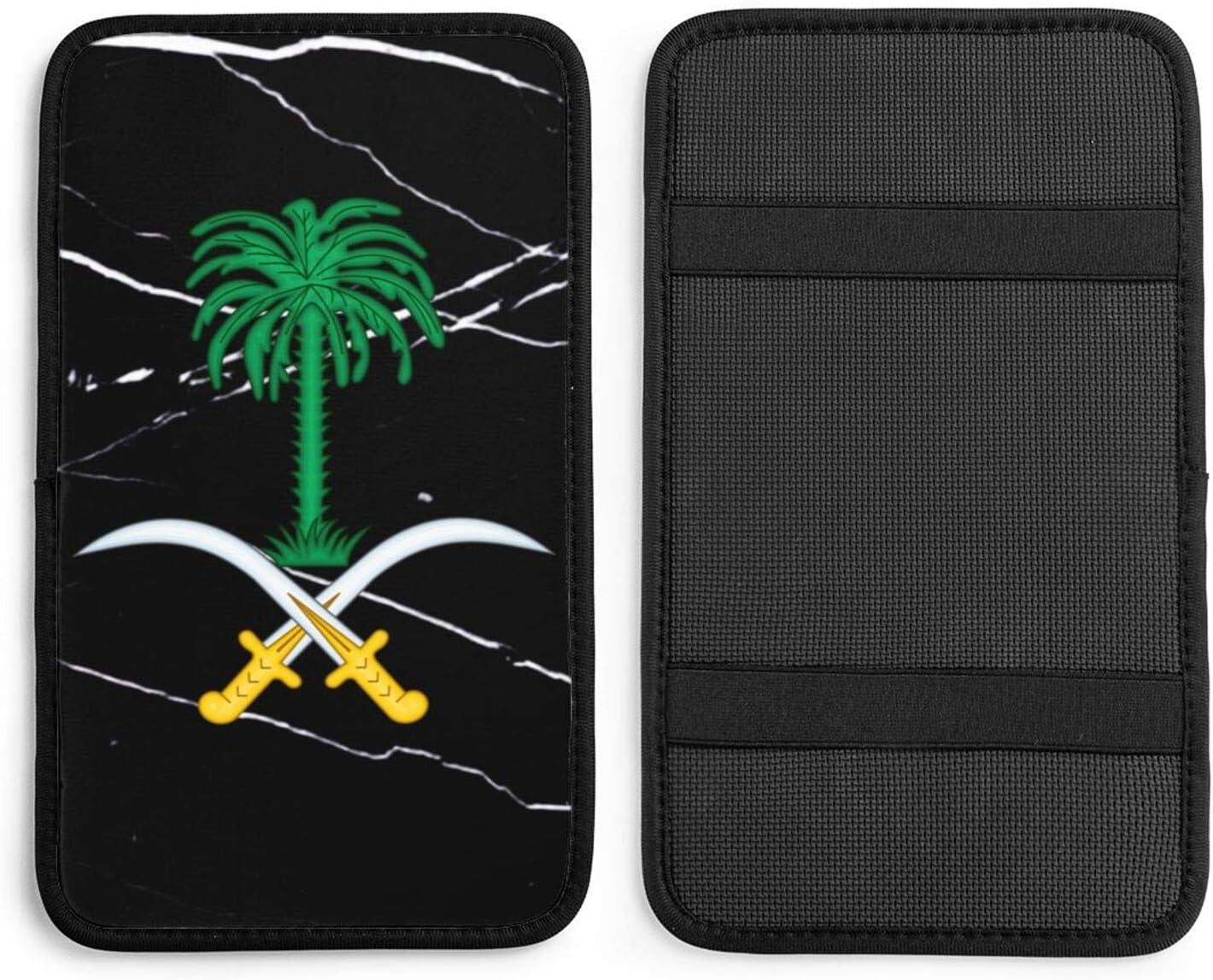 Flag Free shipping on posting reviews of Saudi Arabia gift Car Handrail Auto Fit Cushion Box Universal
