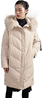 Distance Color Women's Thickened Down Jacket Ski Suit