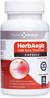 Doctor Formulated Cold Sore Compound - Immune Support & Probiotics Super Blend - Clinically Studied Daily Supplement to Help Prevent Fever Blisters (Cold Sores - Oral Herpes). (3)