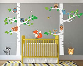 children's tree mural