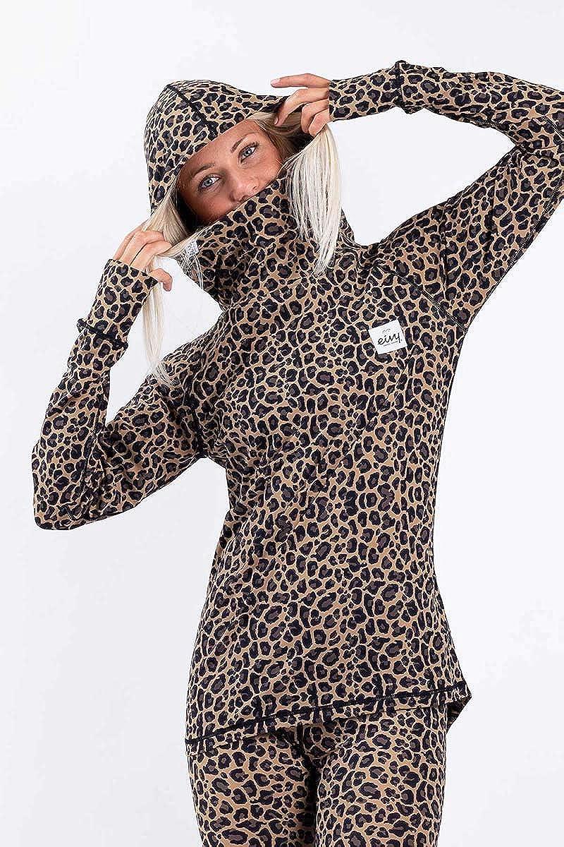 EIVY Icecold Hood Top sous-vêtement Femme Léopard
