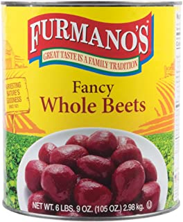 TableTop King #10 Can 120 Count Whole Beets - 6/Case