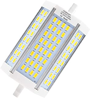 R7S LED 118mm Daylight White 6000K Non Dimmable 30W 2400LM 64pcs 5630SMD 110V J118 Type J Light Bulb Double Ended Halogen Replacement by Rowrun