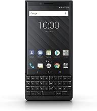 BlackBerry KEY2 128GB (Dual-SIM, BBF100-6, English UK QWERTY Keypad, GSM Only, No CDMA) Factory Unlocked 4G Smartphone (Black Edition) - International Version