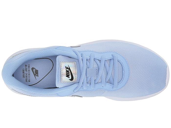 Women's Nike Tanjun Aluminum BlueBlack White For Sale