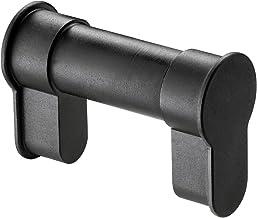 W+M EASYBLIND, universele cilindercilinder, verstelbare en vuurvaste profielcilinder, 50-76 mm deurdikte, zwart, met inste...