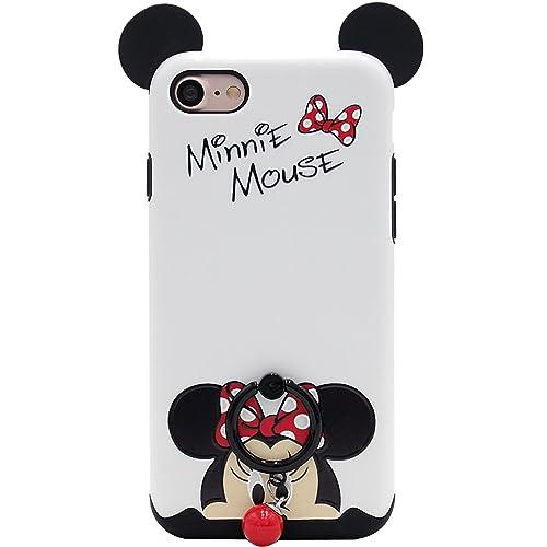 iPhone 7 Case, iPhone 8 Case, MC Fashion Cute Cartoon Mickey Mouse Ears [