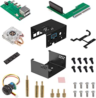 UCTRONICS for Raspberry Pi 4 Metal Case, with Re-Locate Board and ICE Towel Cooler