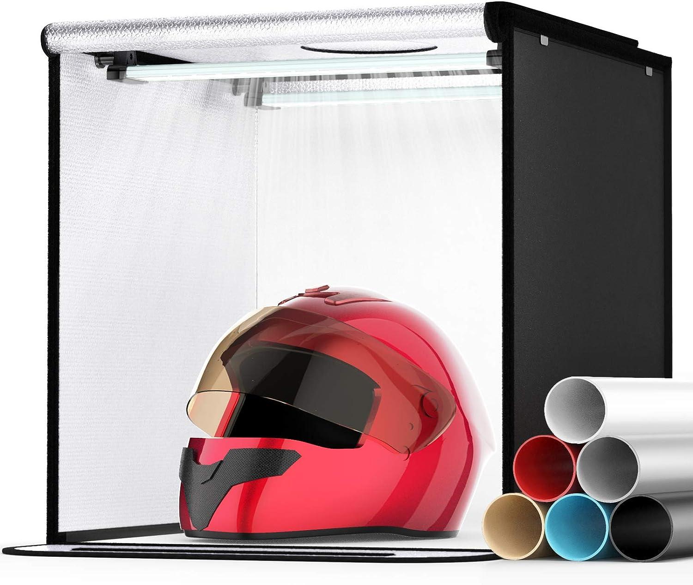 Photo Light Box SAMTIAN Portable Photography 16x16x16 Baltimore Mall St Inches Max 44% OFF