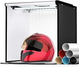 Photo Light Box, SAMTIAN Portable 16x16x16 Inches Photography Studio Light Box Shooting Tent Tabletop Photography Lighting...