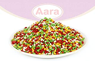 Aara Fennel Sugar Coated CandyMukhwas (After Meal Digestive Treat) Indian Candy Mouth Freshner 7 oz (200 gm)