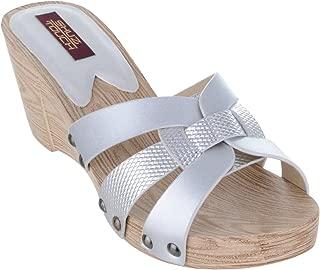 Shuz Touch Silver Sandal