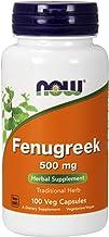 Now Foods - FENUGREEK 500mg - 100 veg caps