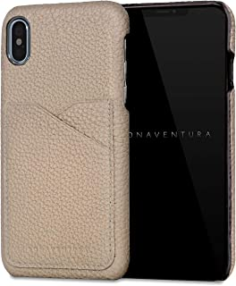 BONAVENTURA ボナベンチュラ バックカバーケース [iPhone Xs/X, グレージュ] BPCTX-GG
