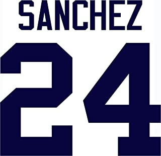 Gary Sanchez New York Yankees Jersey Number Kit, Authentic Home Jersey Any Name or Number Available