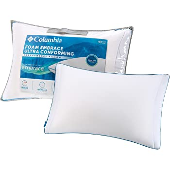 Amazon Com Columbia Comfort Down Alternative Ice Fiber 360 Pillow