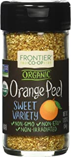 Frontier Herb Orange Peel Organic Granules, 1.92 Ounce