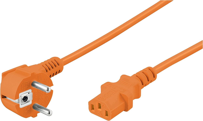 Goobay 96043 Kaltgeräte Anschlusskabel Beidseitig Computer Zubehör