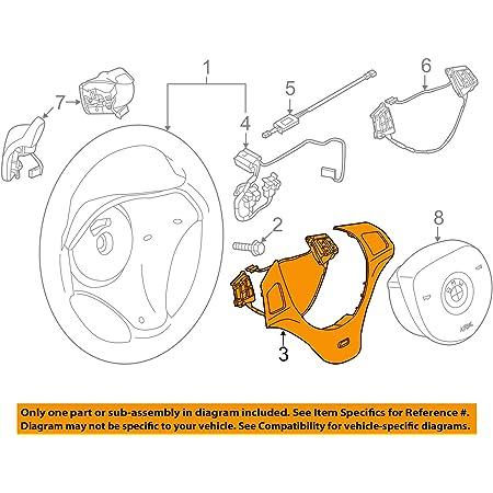 Original Bmw Lenkrad Abdeckungblende M Schwarz Multifunktion 1er E81 E82 E87 E88 Lci 3er E90 E91 E92 E93 Lci X1 E84 32307845527 Auto