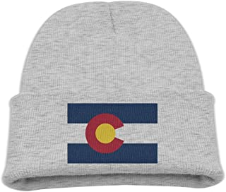 9182882c82a Children Beanie Hat Colorado State Flag Skull Cap In 4 Colors