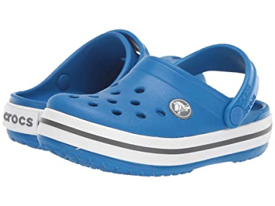 Crocs Kids Crocband Clog (Toddler/Little Kid) (Bright Cobalt/Charcoal) Kids Shoes