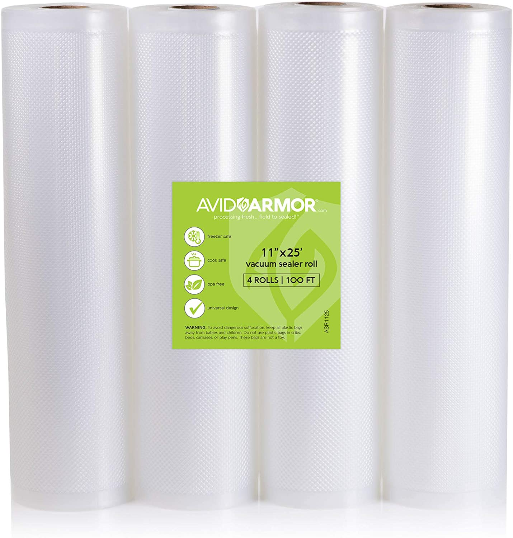 Avid Armor Sale Vacuum Sealer Bags Rolls 4 for x Feet 11