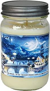 Sugar Creek Candles   Midnight Mass (Just Like Church on Christmas Eve)   Non-Toxic, 100% Natural Soy Wax   Maximum Scent Strength (10% Load) The Best Candles Ever!