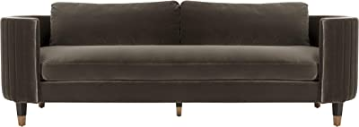 Safavieh Couture Collection Winford Giotto Mouse Velvet Sofa