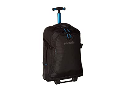 Pacsafe EXP21 Toursafe Anti-Theft Wheeled Carry-On (Black) Carry on Luggage