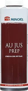 Minor's Au Jus Prep Sauce, Roast Beef Sauce, French Dip Sandwich, 16.7 oz