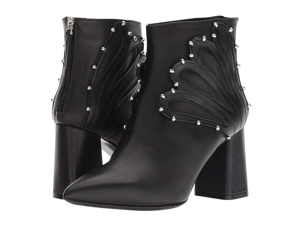 Racine Carree Chunky Heel 85mm Bootie (Black) Women