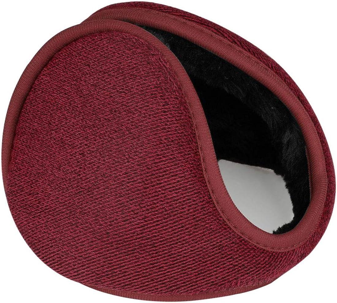 uxcell Outdoor Activities Winter Soft Warm Ear Earmuffs Wrap for Men Women