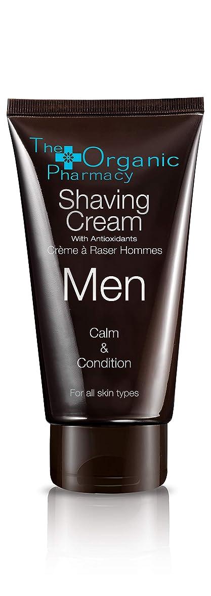 測定台無しにからThe Organic Pharmacy Men Shaving Cream - Calm & Condition 75ml/2.5oz並行輸入品